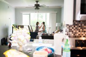 Getting Ready einer Braut