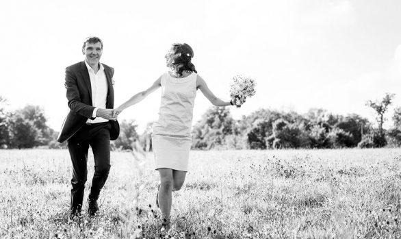Hochzeit im ländlichen Schattin