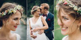Braut und Bräutigam. Portraits