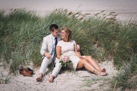 Filitz-Fotografie Hochzeit Travemuende Priwall Paar in den Duenen