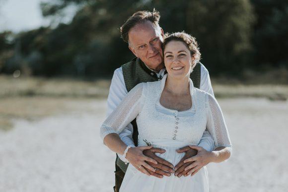 Zwei aus dem Süden heiraten im Norden - auf der Passat